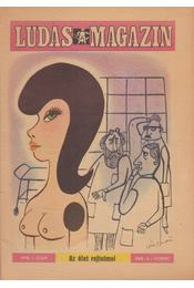 Ludas Magazin 1978. 1. szám - Földes György - Régikönyvek
