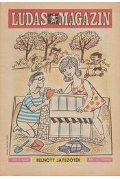 Ludas Magazin 1979. 6. szám - Földes György - Régikönyvek
