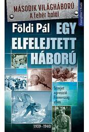 Egy elfelejtett háború - Földi Pál - Régikönyvek