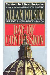 Day of Confession - Folsom, Allan - Régikönyvek