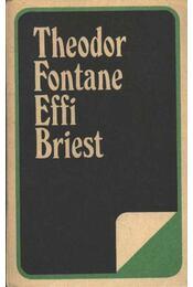 Effi Briest - Fontane, Theodor - Régikönyvek