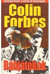 Bábjátékok - Forbes, Colin - Régikönyvek