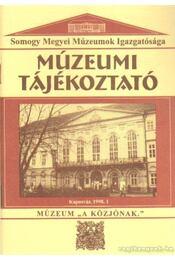 Múzeumi Tájékoztató 1998/1 - Forrai Márta - Régikönyvek