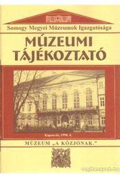 Múzeumi Tájékoztató 1998/4 - Forrai Márta - Régikönyvek