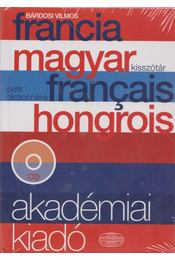 Francia - magyar kisszótár  (CD melléklettel) - Bárdosi Vilmos - Régikönyvek