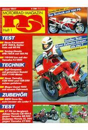 Motorrad-Magazin 1987 Januar - Franz Josef Schermer - Régikönyvek