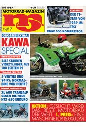 Motorrad-Magazin 1987 Juli - Franz Josef Schermer - Régikönyvek
