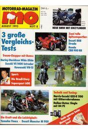 Motorrad-Magazin 1993 August - Franz Josef Schermer - Régikönyvek
