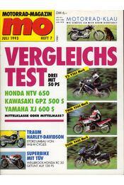Motorrad-Magazin 1993 Juli - Franz Josef Schermer - Régikönyvek