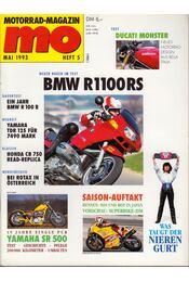 Motorrad-Magazin 1993 Mai - Franz Josef Schermer - Régikönyvek