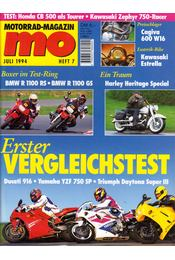 Motorrad-Magazin 1994 Juli - Franz Josef Schermer - Régikönyvek