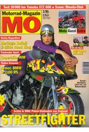 Motorrad-Magazin 1995/7 - Franz Josef Schermer - Régikönyvek