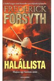 Halállista - Frederick Forsyth - Régikönyvek