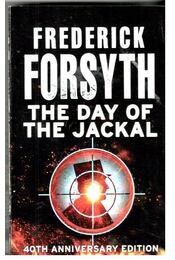 The Day of the Jackal - Frederick Forsyth - Régikönyvek