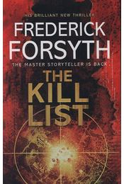 The Kill List - Frederick Forsyth - Régikönyvek