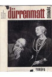 Drámák - Friedrich Dürrenmatt - Régikönyvek
