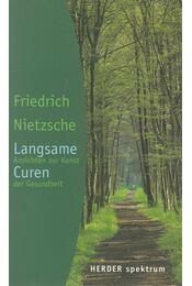 Langsame Curen - Friedrich Nietzsche - Régikönyvek