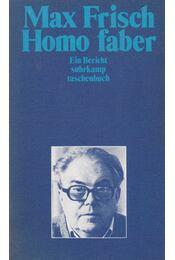 Homo faber - Frisch, Max - Régikönyvek