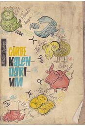Görbe kalendárium 1966 - Fülöp György - Régikönyvek
