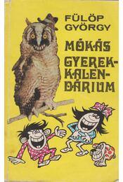 Gyerekkalendárium - Fülöp György - Régikönyvek