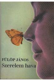 Szerelem hava - Fülöp János - Régikönyvek