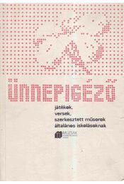 Ünnepigéző - Gabnai Katalin - Régikönyvek