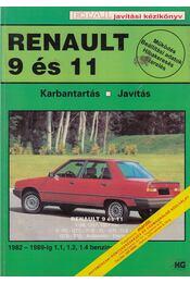 Renault 9 és 11 Karbantartás Javítás - Gál Erzsébet - Régikönyvek
