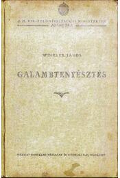 Galambtenyésztés - Winkler János - Régikönyvek