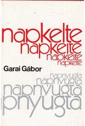 Napkeltenyugta - Garai Gábor - Régikönyvek