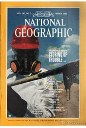 National geographic 1985 March - Garrett, Wilbur E. - Régikönyvek