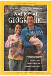 National Geographic 1985. September - Garrett, Wilbur E. - Régikönyvek