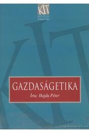 Gazdaságetika - Hajdu Péter - Régikönyvek