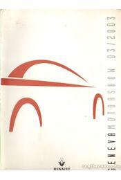 Geneva Motorshow 2003/03. - Régikönyvek