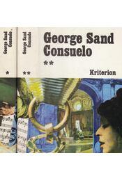 Consuelo I-II. - George Sand - Régikönyvek