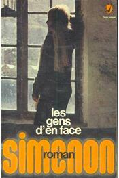 Les gens d'en face - Georges Simenon - Régikönyvek