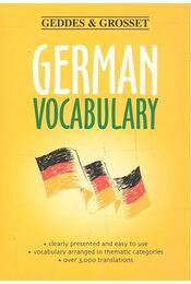 German Vocabulary - Régikönyvek