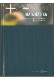 Matematika - Gerőcs László, Vancsó Ödön - Régikönyvek