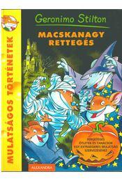 Macskanagy rettegés - Geronimo Stilton - Régikönyvek