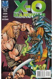 X-O Manowar Vol. 1. No. 64 - Giffen, Keith, Gulacy, Paul - Régikönyvek