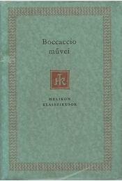 Boccaccio művei - Giovanni Boccaccio - Régikönyvek