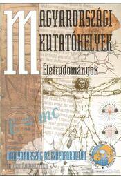 Magyarországi kutatóhelyek - Élettudományok - Glatz Ferenc - Régikönyvek