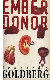 Ember donor - Golberg, Leonard S. - Régikönyvek