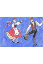 Táncoló karakter - Régikönyvek