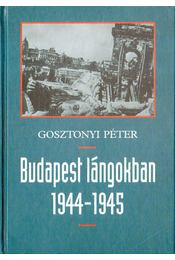 Budapest lángokban 1944-1945 - Gosztonyi Péter - Régikönyvek