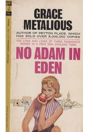 No Adam in Eden - Grace Metalious - Régikönyvek