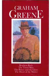 Brighton Rock / The Third Man / The Power and the Glory / The Heart of the Matter - Graham Greene - Régikönyvek