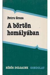 A börtön homályában - Groza, Petru - Régikönyvek