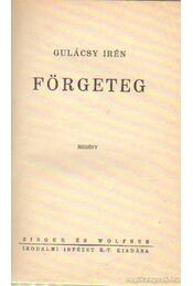 Förgeteg - Gulácsy Irén - Régikönyvek