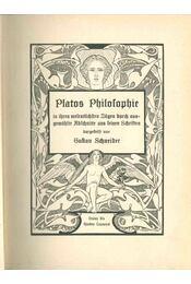 Platos Philosophie - Gustav Schneider - Régikönyvek