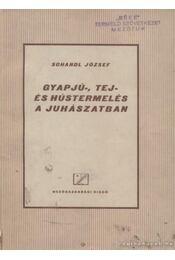 Gyapjú-, tej- és hústermelés a juhászatban - Schandl József - Régikönyvek